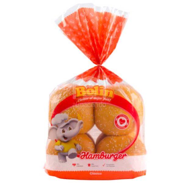 Pan de Hamburguesa Bolin (8 uds)