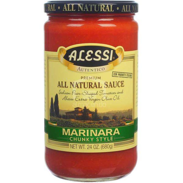 Salsa Alessi Marinara Gruesa, 24 oz