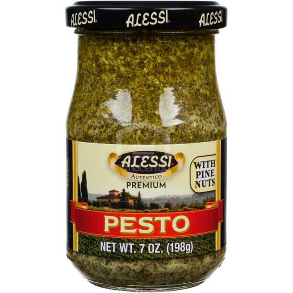 Salsa Alessi Pesto, 7 oz