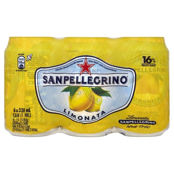 San Pellegrino Limonata, 330 ml (6 pack)