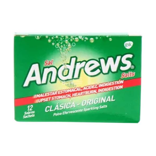 Tableta Efervescente Sal Andrews Original (12 uds)