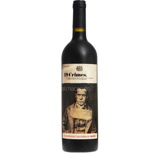 Vino Tinto 19 Crimes Cabernet Sauvignon 2018, 750 ml
