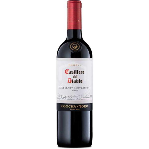 Vino Tinto Casillero del Diablo Cabernet Sauvignon Chile 2018, 750 ml