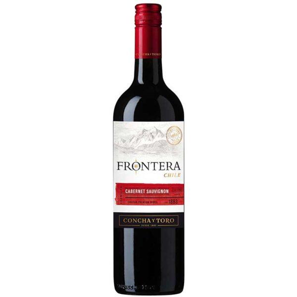 Vino Tinto Frontera Cabernet Sauvignon Chile 2019, 750 ml