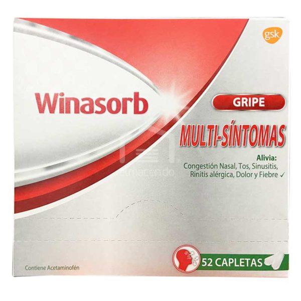 Winasorb Multi-Síntomas Gripe Pastilla, 26 x 2 uds