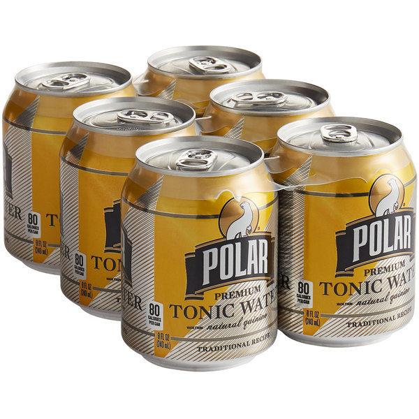 Agua Tónica Polar Premium, 7.5 oz (6 pack)