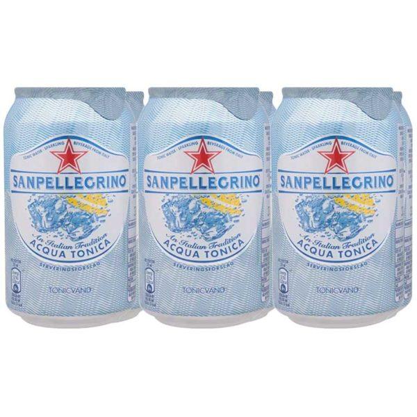 Agua Tónica San Pellegrino, 330 ml (6 pack)