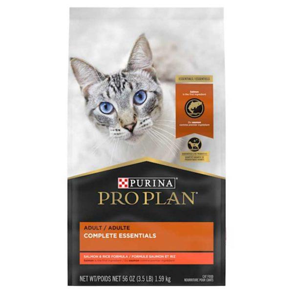 Alimento Seco para Gatos Adultos Purina Pro Plan Savor Fórmula de Salmón y Arroz, 3.5 lbs