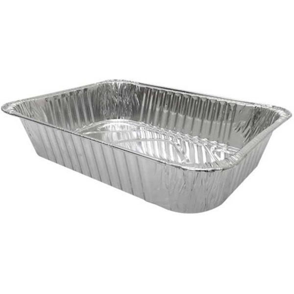 Bandejas Aluminio 17082 Rectangular Lasagña Plastifar, (25 uds)