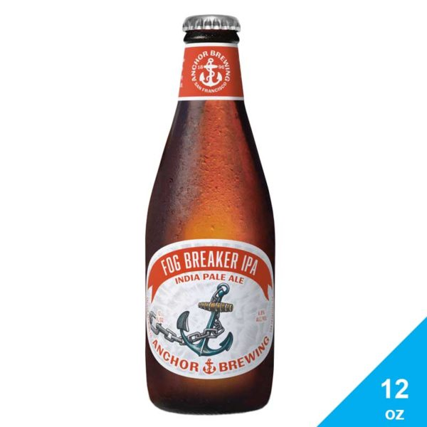 Cerveza Anchor Fog Breaker IPA, 12 oz