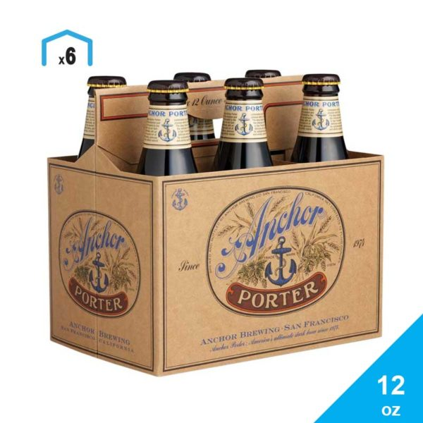 Cerveza Anchor Porter, 12 oz