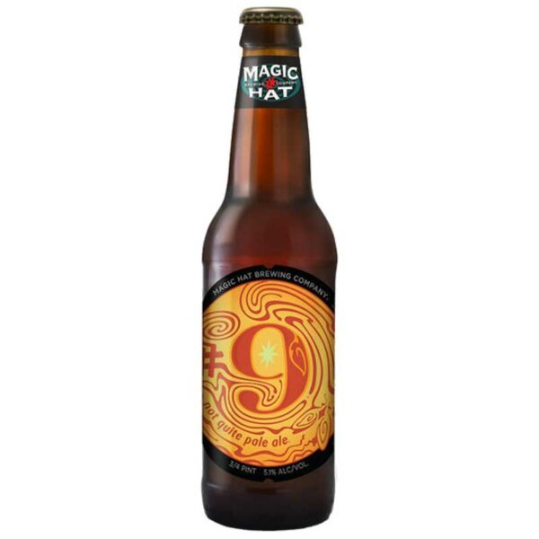 Cerveza Magic Hat #9, 12 oz