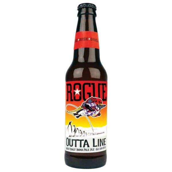 Cerveza Rogue Outta Line IPA, 12 oz