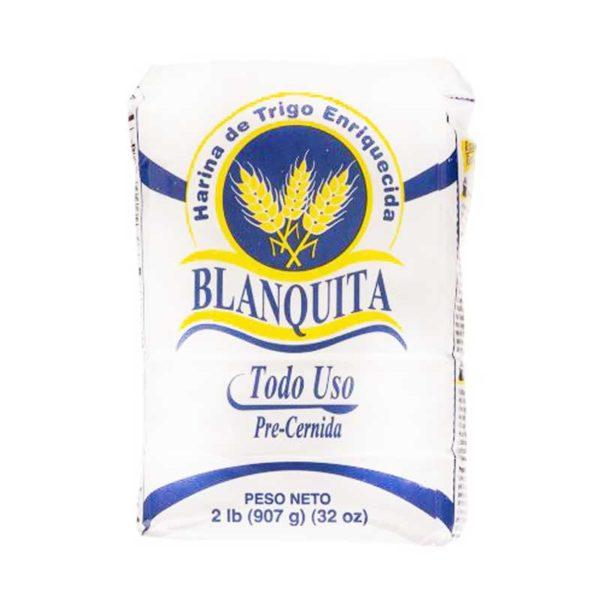 Harina de Trigo Enriquecida Blanquita Todo Uso, 2 lbs