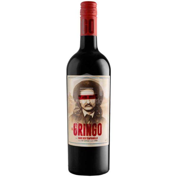 Vino El Gringo Dark Red Tempranillo, 750 ml