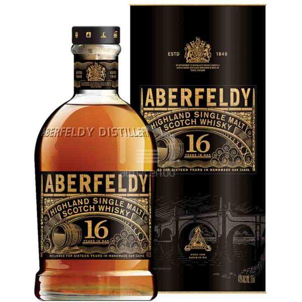 Whisky Escocés Aberfeldy 16 años, 750 ml