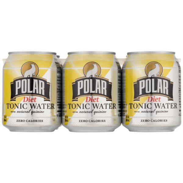 Agua Tónica Polar Dieta, 7.5 oz (6 pack)