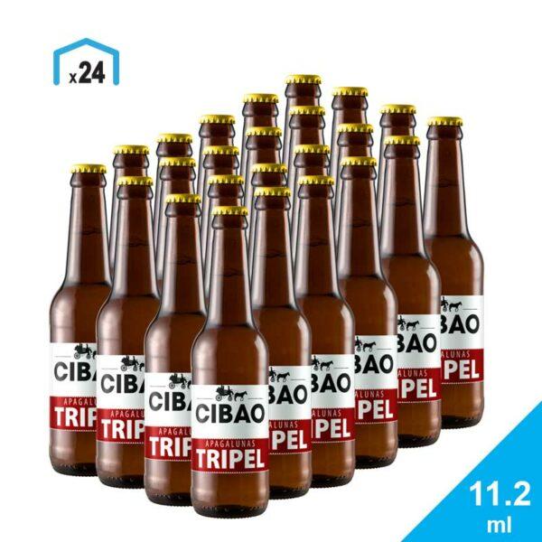 Cerveza Apagalunas Tripel Cibao Brewing, 11.2 oz