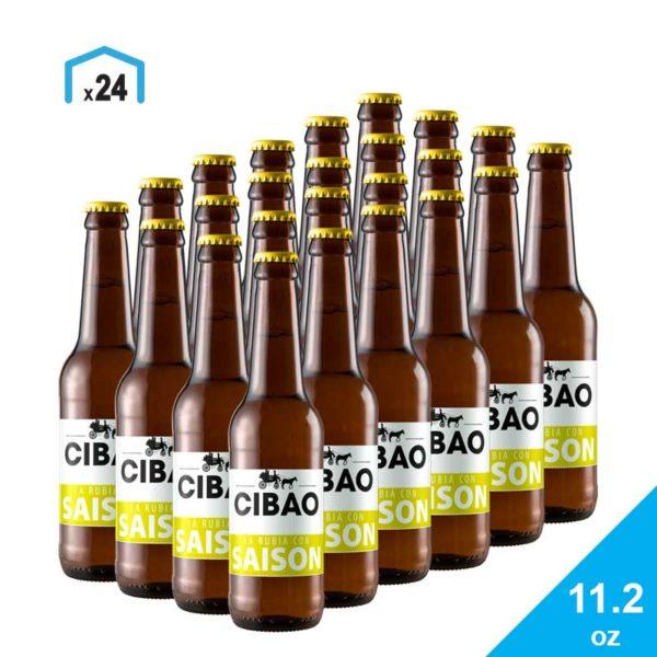 Cerveza La Blonde Saison Cibao Brewing, 11.2 oz