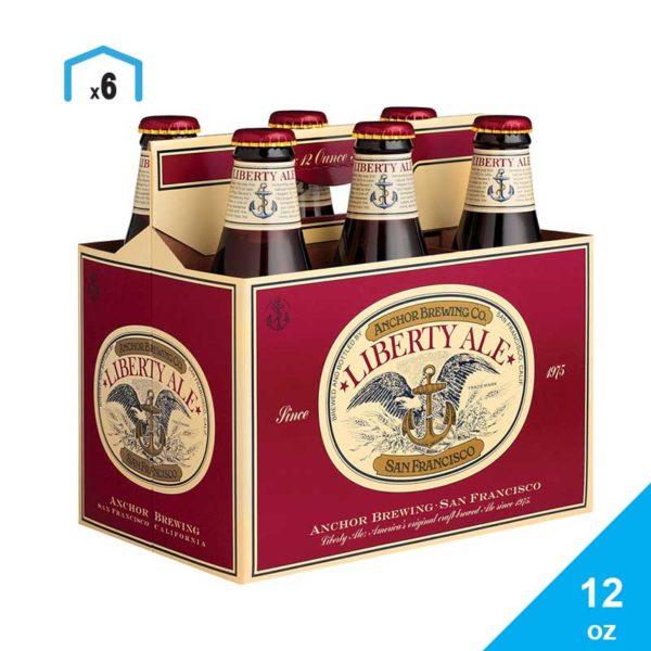 Cerveza Anchor Liberty Ale, 12 oz
