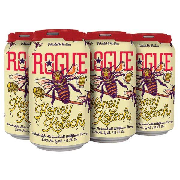 Cerveza Rogue Honey Beer, 12 oz Lata