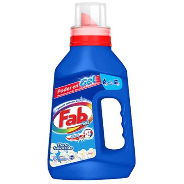 Detergente en Gel Fab Efecto Suavizante, 1 L