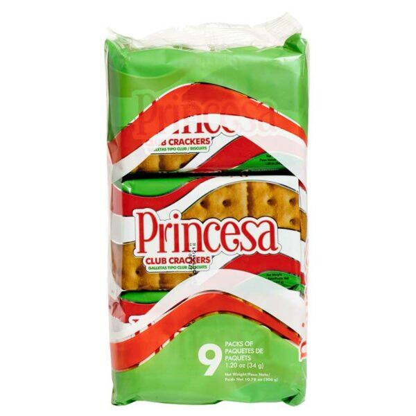 Galletas Club Crackers Princesa, 306 g (9 uds)