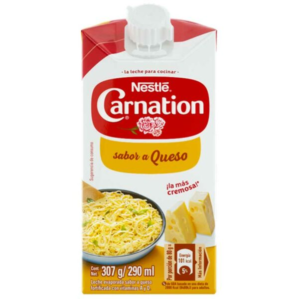 Leche Carnation Sabor a Queso, 307 g
