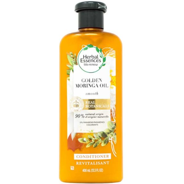 Acondicionador Pelo Suave Herbal Essences Golden Moringa Oil, 400 ml