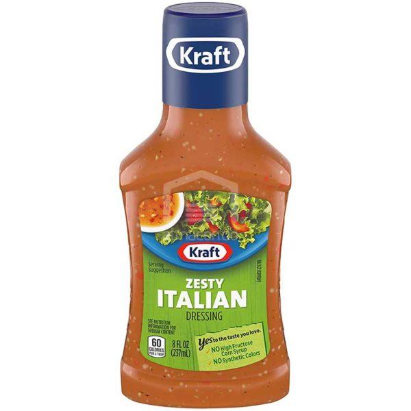 Aderezo Kraft Picante Italiano, 8 oz