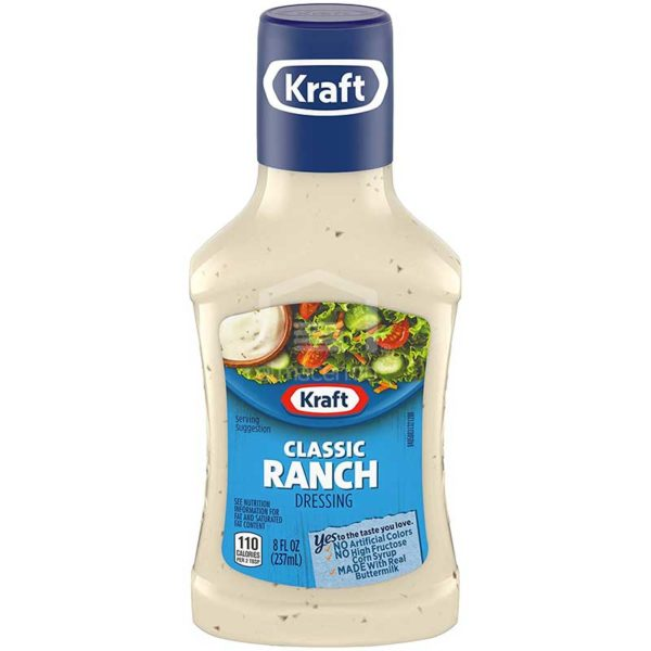 Aderezo Kraft Ranchero Clásico, 8 oz