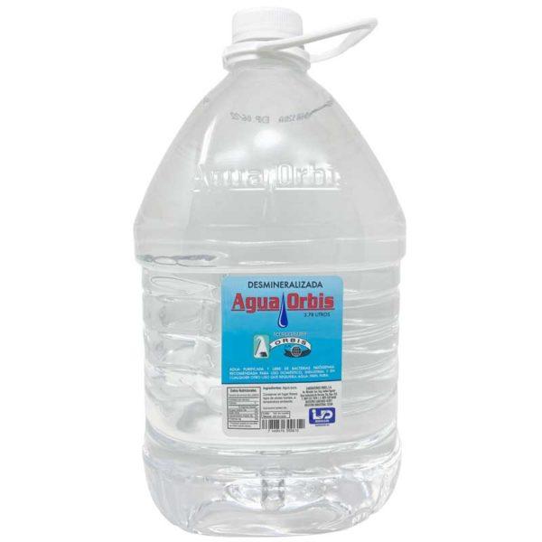 Agua Orbis Desmineralizada, 1 gal