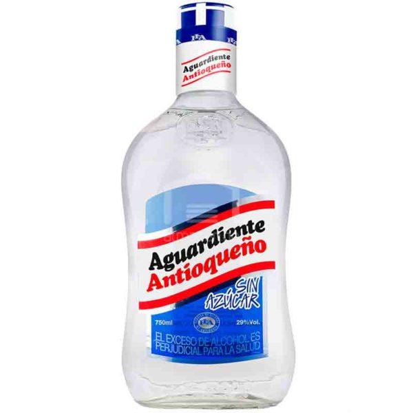 Aguardiente Antioqueño sin Azúcar, 750 ml