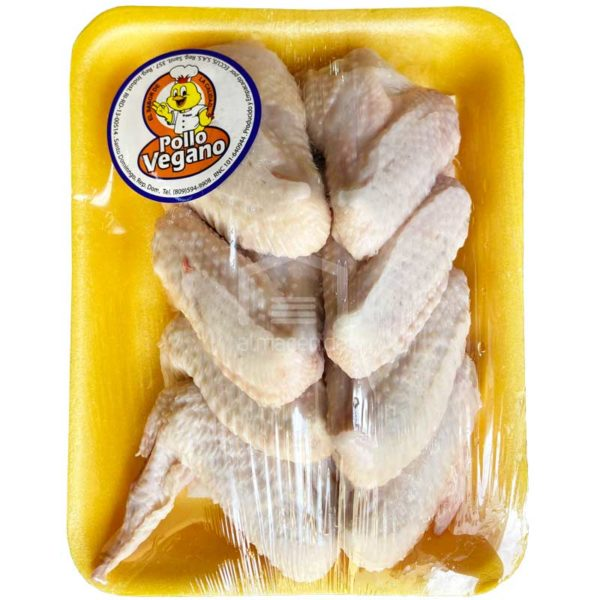 Alas de Pollo Congelado, 10 uds