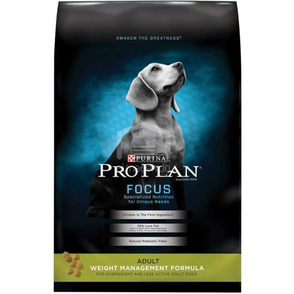 Alimento Seco para Perro Adulto Purina Pro Plan Focus Fórmula de Control de Peso, 6 lbs