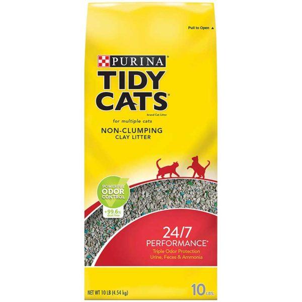 Arena para Gatos Purina no Aglutinante 24/7 Performance, 10 lbs