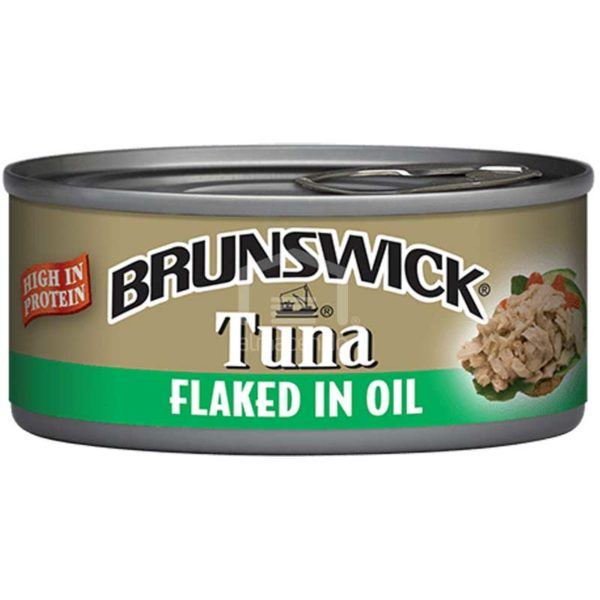 Atún Brunswick Demenuzado en Aceite, 142 g (3 uds)
