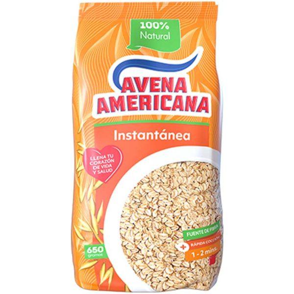 Avena Americana Intantánea, 650 g