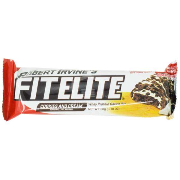 Barra Fitelite Cookies & Cream, 3.1oz