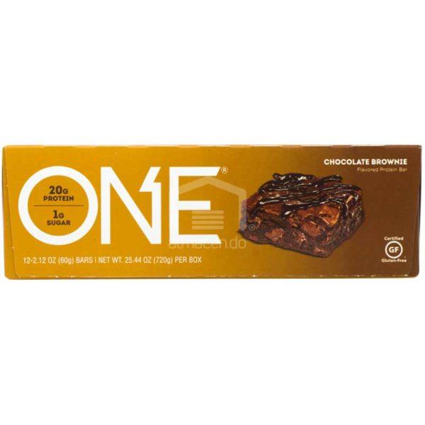 Barras ONE Chocolate Brownie, 24.44 oz (12 uds)