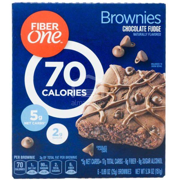 Brownies Dulce de Chocolate Fiber One, 5.34oz (6 uds)