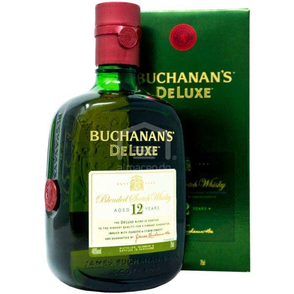 Whisky Buchanan's DeLuxe 12 Años, 750 ml