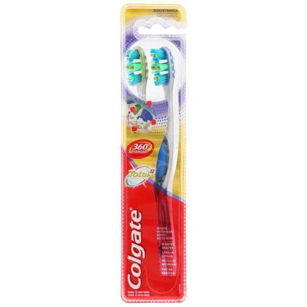 Cepillo Dental Colgate 360° Total 12 Avanced (2 uds)
