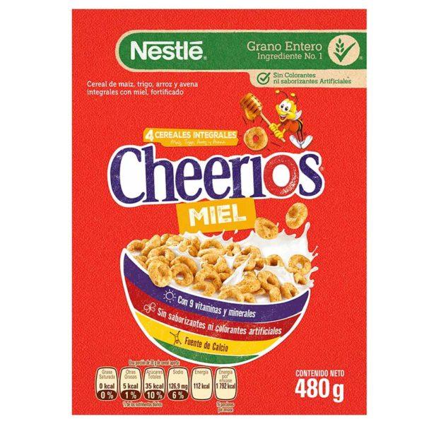 Cereal Cheerios Miel, 480 g