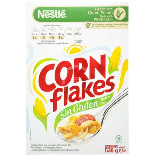 Cereal Corn Flakes Sin Gluten de Nestlé, 530 g
