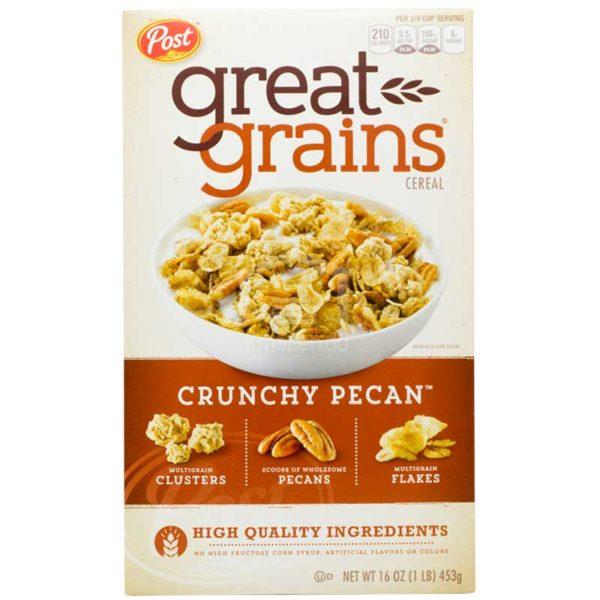 Cereal Post Great Grains Pecan Crujiente, 1lb