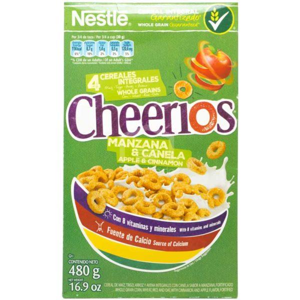 Cereal Cheerios Manzana & Canela, 480 g