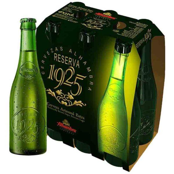 Cerveza Alhambra Reserva 1925, 11.2 oz