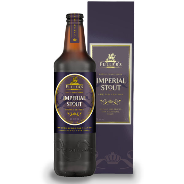 Cerveza Fuller's Imperial Stout, 16.9 oz