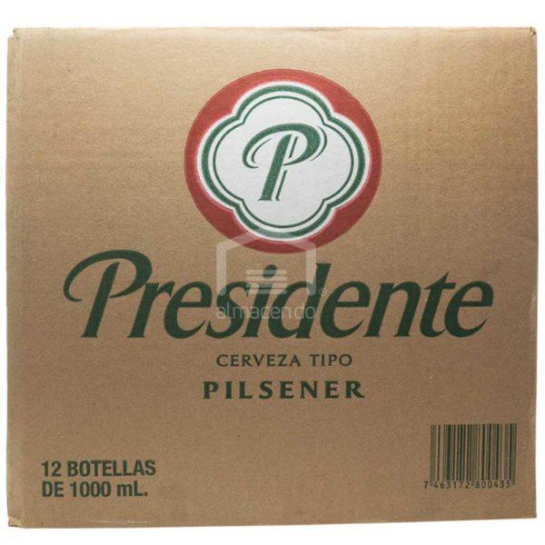Cerveza Presidente Jumbo, 33 oz Caja (12 uds)